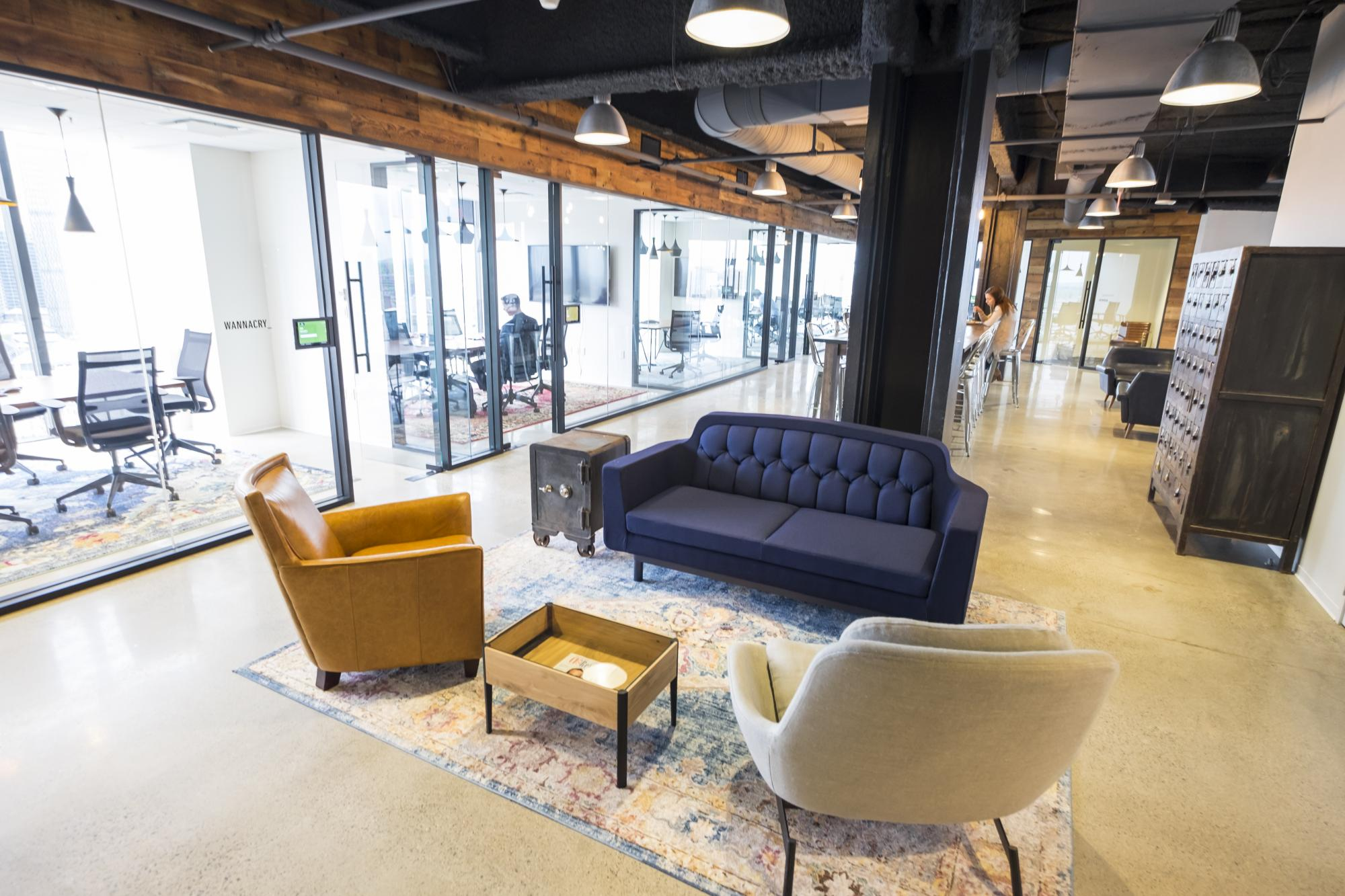 Cybereason Boston Office Seating Area