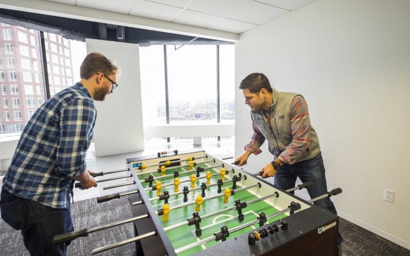 Cybereason Office Foosball Table