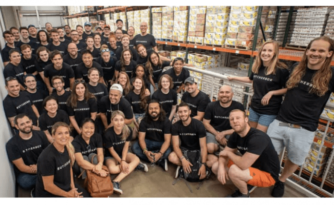 ButcherBox Team Volunteer Day at The Greater Boston Food Bank -- July 2019